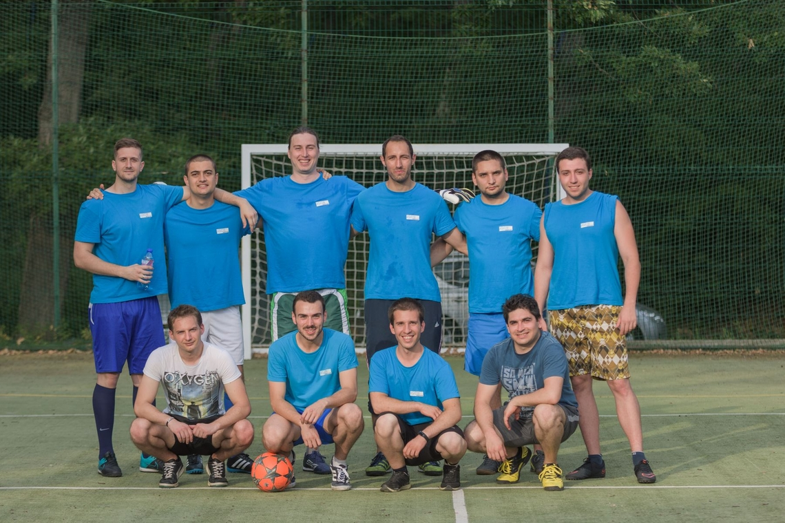 Asic Depot Footbal Team Won the Second Place in the IT League Cup - Plovdiv