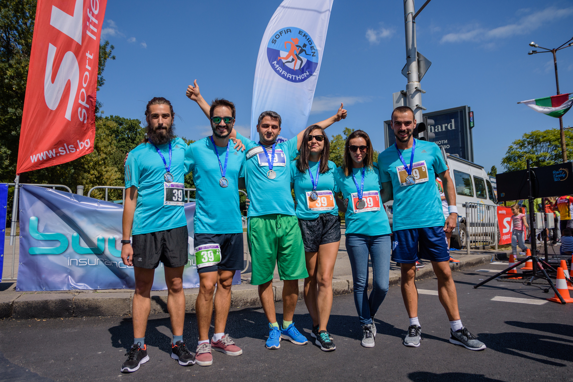 ASIC Depot relay race team have won third price in Sofia Ekiden Marathon 2017